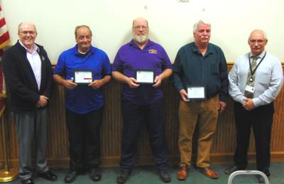 OCO transportation services employees receive awards