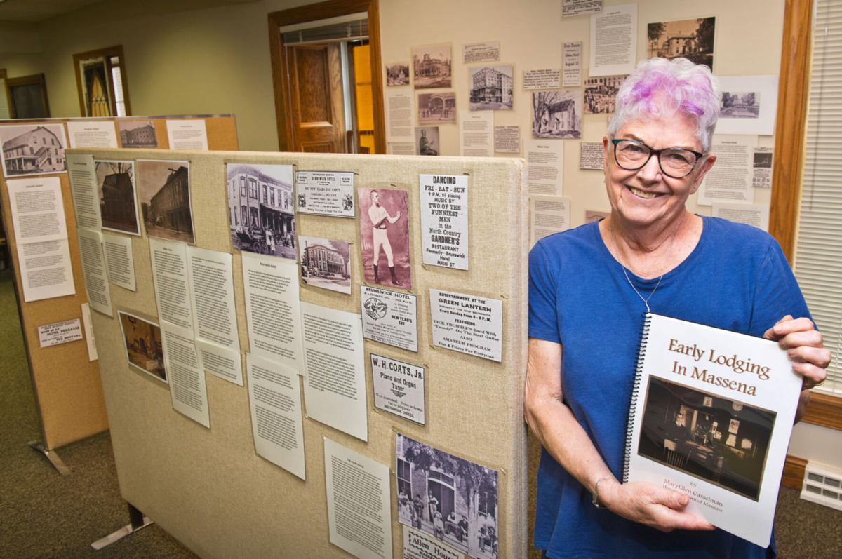 Book, exhibit recalls early Massena lodging