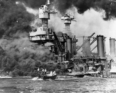 Pearl Harbor, deniers and climate change