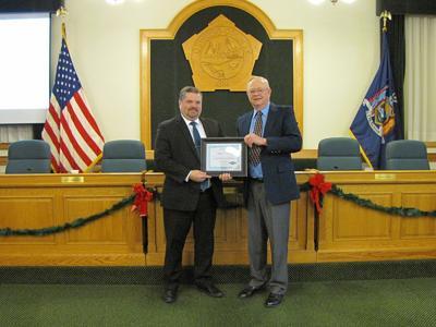 Philip R. Church awarded Oswego County Tourism Ambassador Award