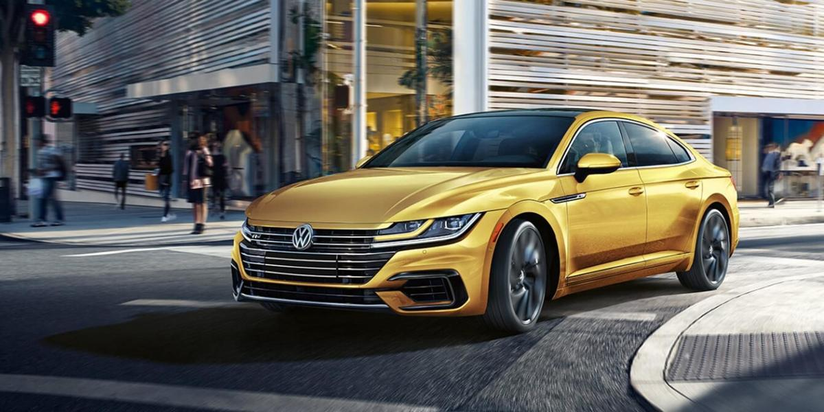 For VW, a new look with a handy hatchback