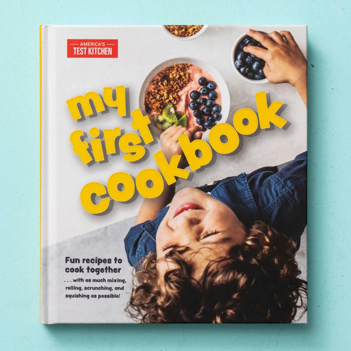 A tale of 2 cookbooks designed for children