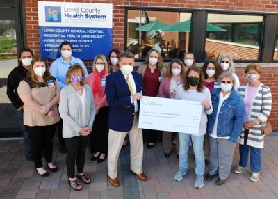 Lewis County Hospice receives $125K donation from Friends
