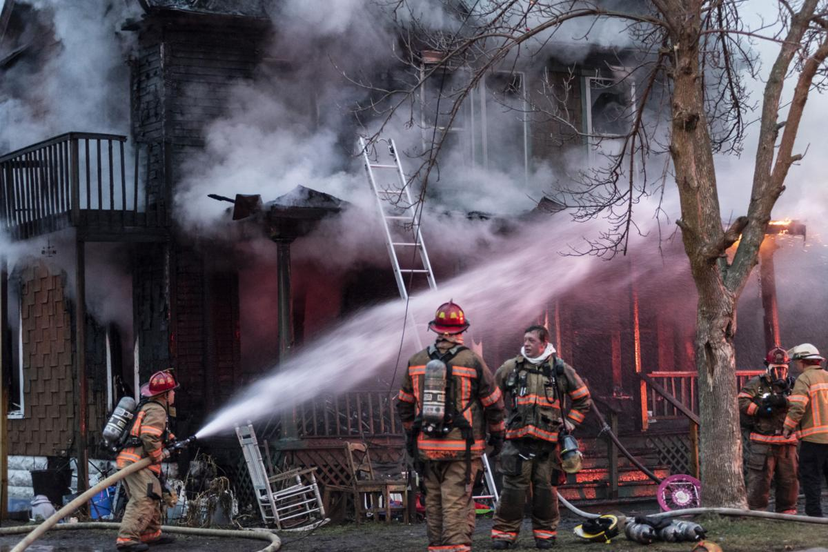 Officials tracking leads on suspicious city fire