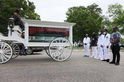 Andrew Brown Jr.'s family and friends gather for emotional farewell