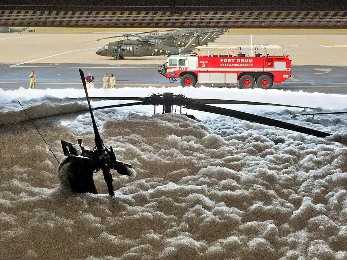 Drum foam discharge ruled accidental