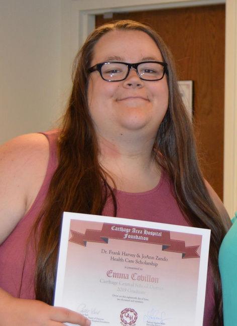 Harvey and Zando Health Care Scholarship winners named