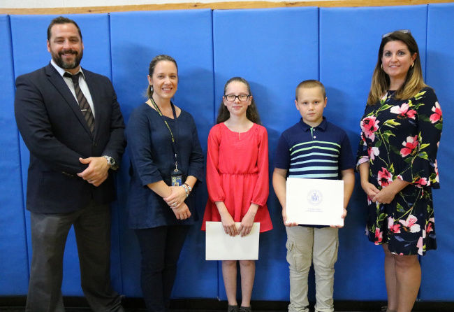 Sixth grade moving up ceremony held at APW Elementary School
