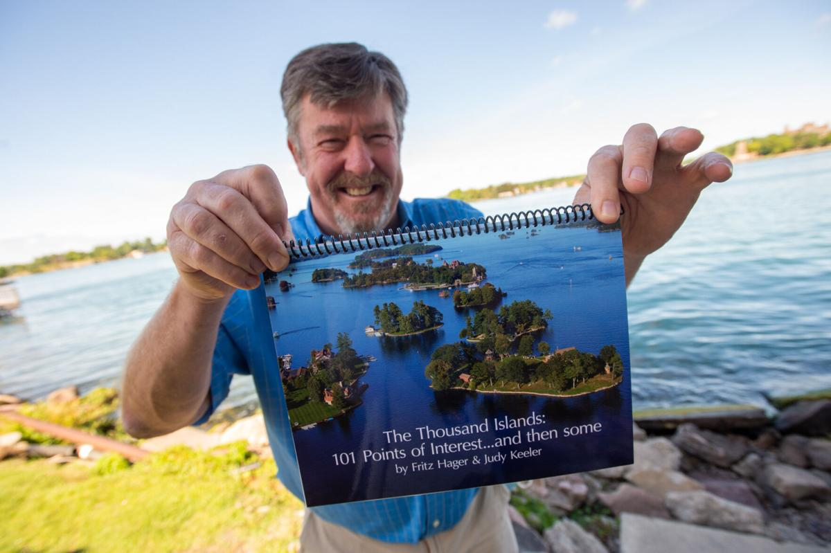 To the letter Book of vintage Thousand Island postcards share 'Points of Interest'