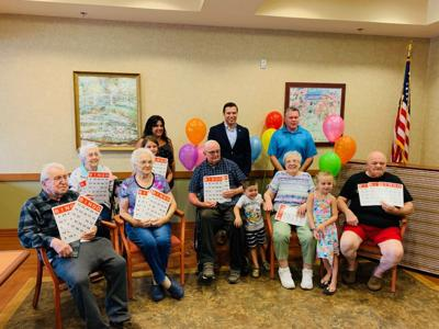 Children, seniors celebrate Grandparents Day with Bingo Day event Sept. 8