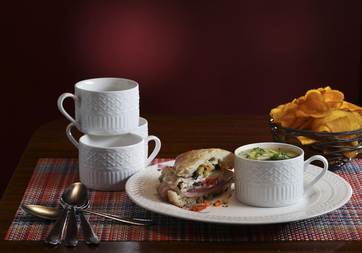 Soup and a sandwich — with a warming hit of spice