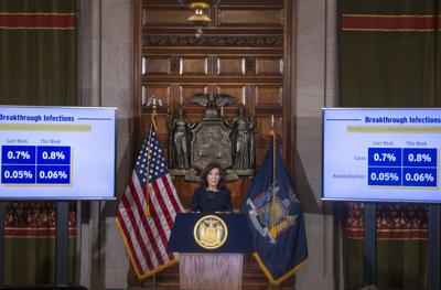 Hochul expands N.Y. Excelsior Pass to four states