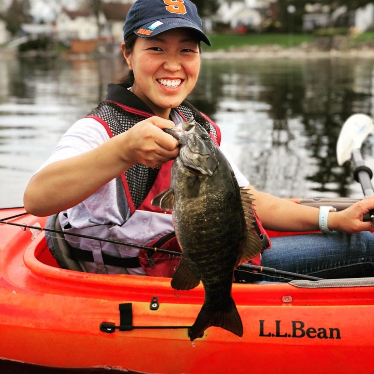 Local women angler photos take top prize in DEC contest