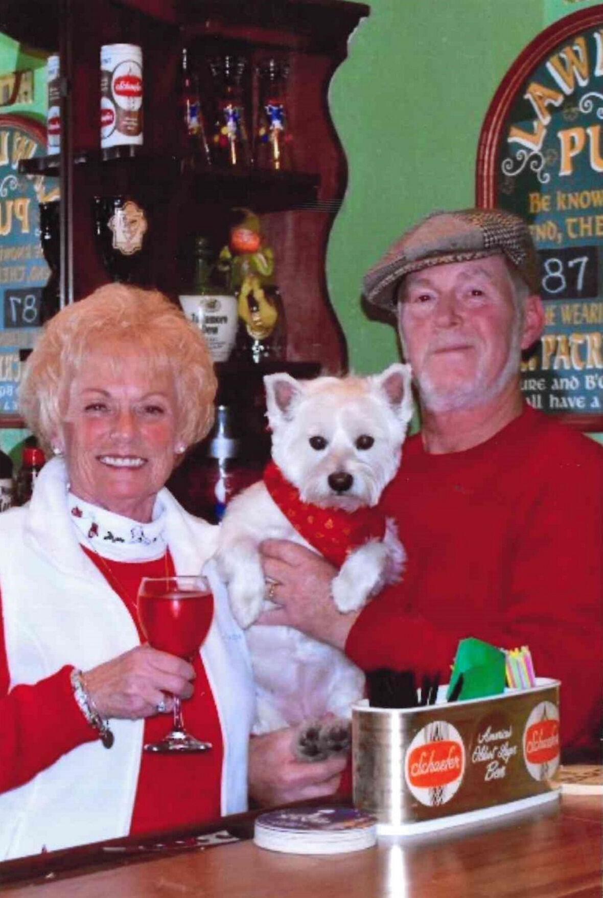 Bernard S. and Cathy N. Lawlee, 50 years