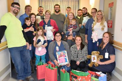IBEW Local 43 makes it a holiday tradition supporting Oswego Hospital's Maternity Center