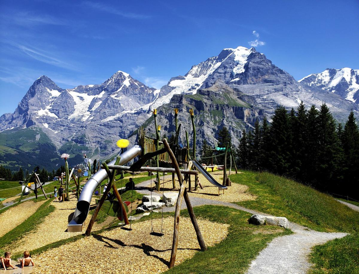 Switzerland's mountains of magnificence