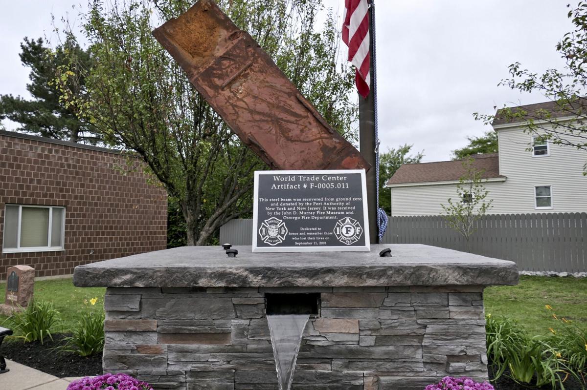 Oswego dedicates Sept. 11 memorial
