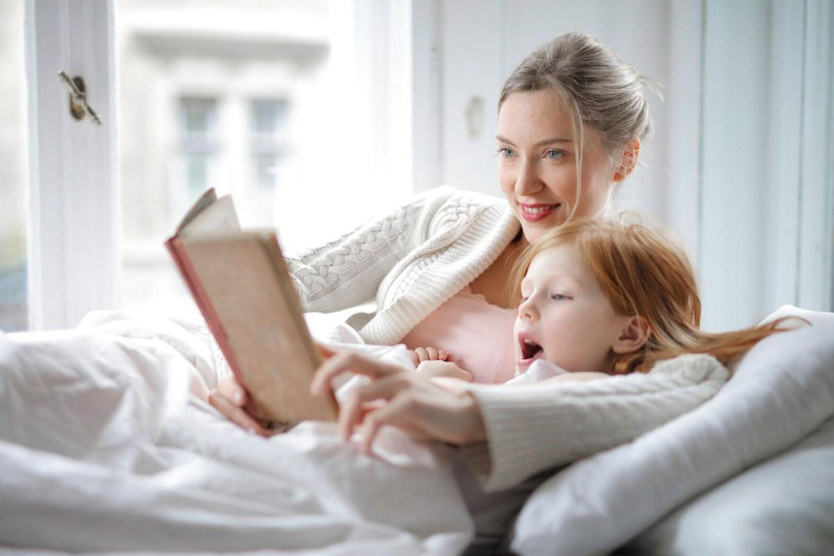 How to heal a child's pain: READ them A STORY