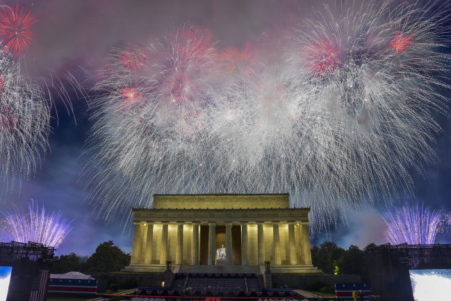Fourth of July draws crowds to D.C.