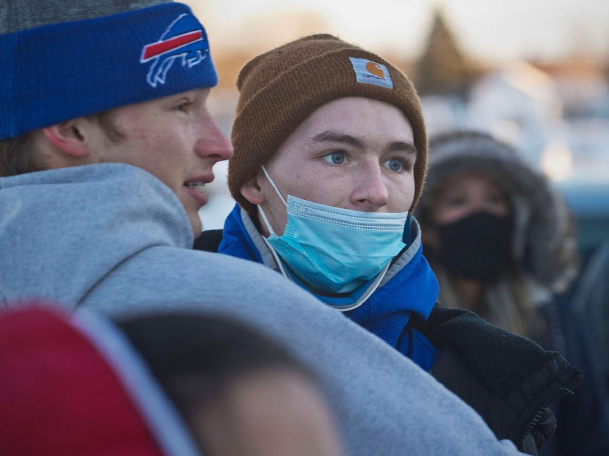 Back from 'death's door' Ogdensburg teen home after serious ski crash in Maine