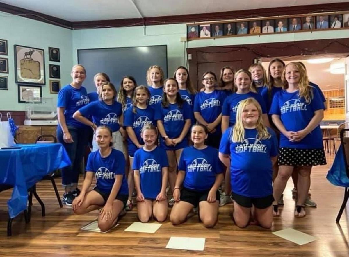 Lady Moose enjoys fine North Country Youth Softball season