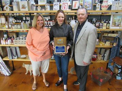 Operation Oswego County presents award to Rebekah Alford