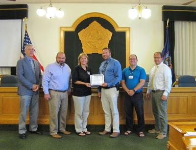 County recognizes Sue Buske