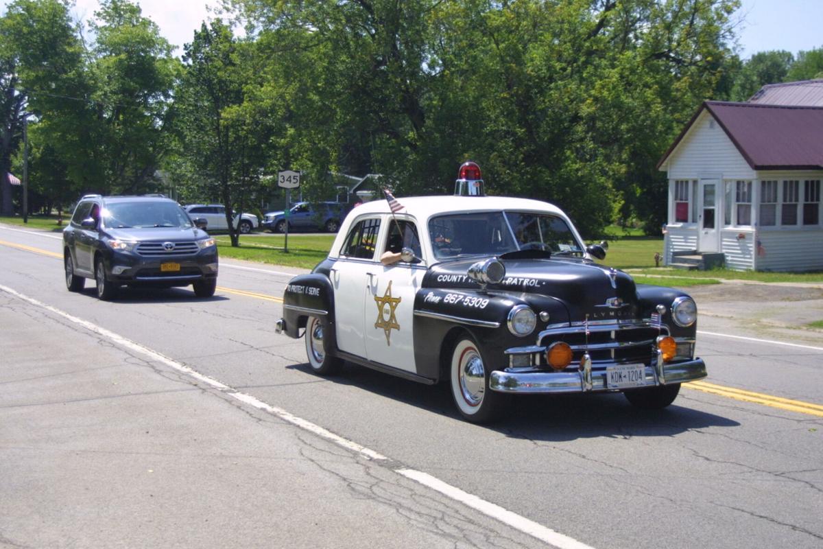 'Back the Blue' parade salutes law enforcement