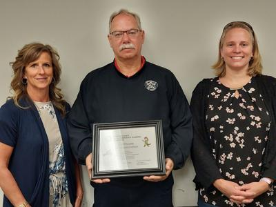 LEPC honors retiring treasurer