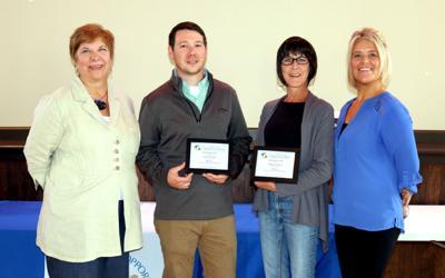Employees receive longevity awards