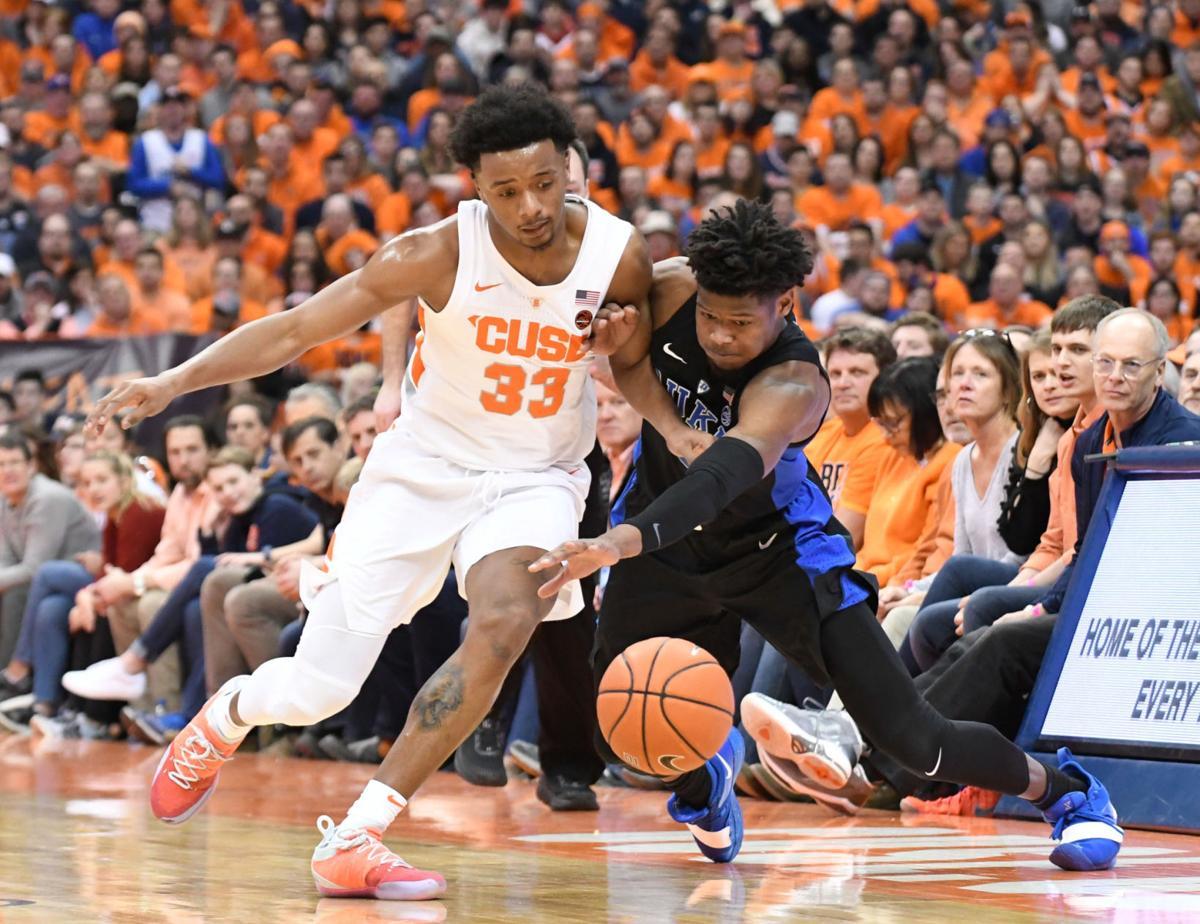 College Basketball Syracuse To Host Duke At 8 P M Feb 1
