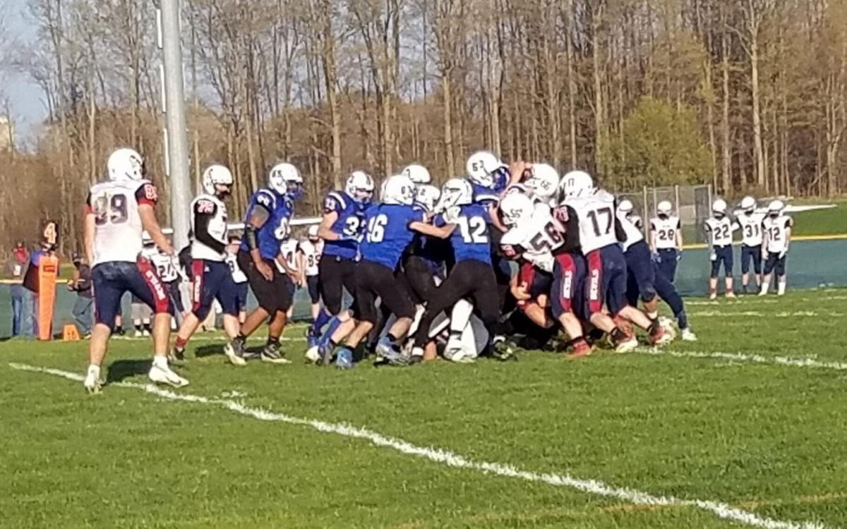 Comets topple Blue Devils in rivalry game