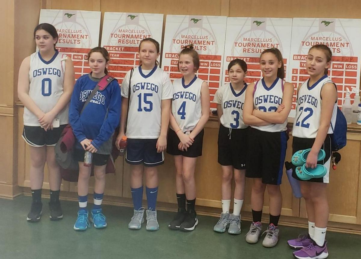 Oswego girls basketball travel team place in tournament