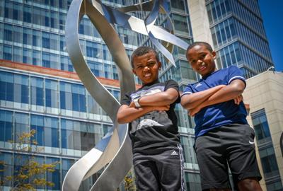 Brothers help pave the way to vaccination