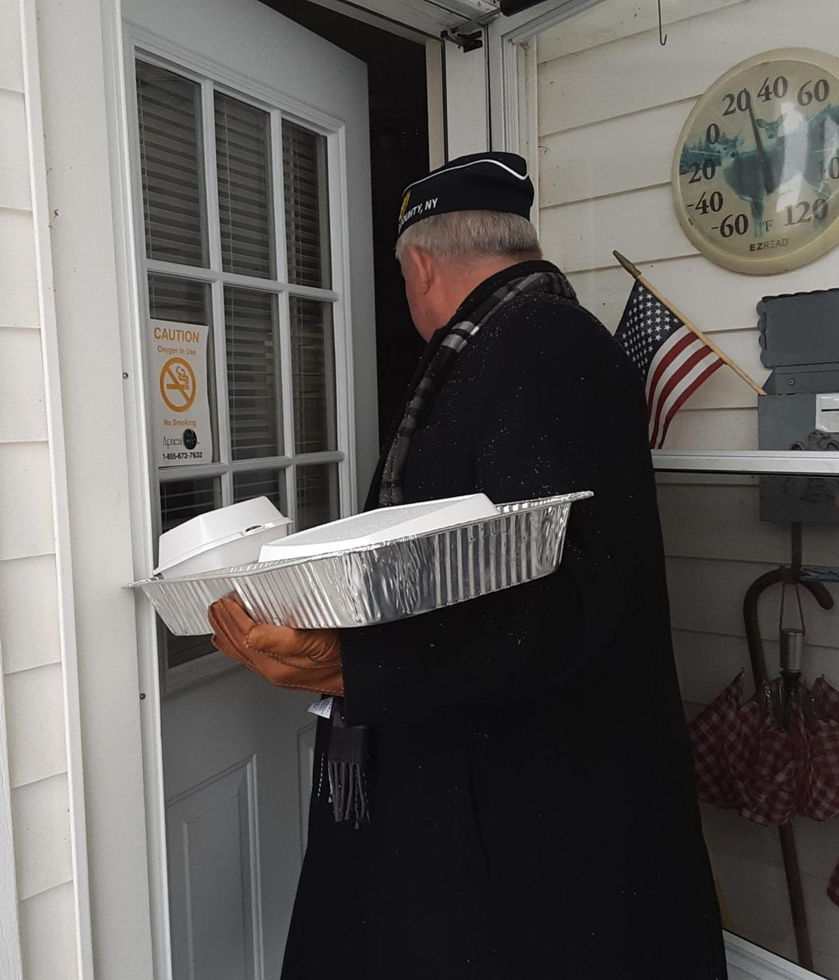 Lowville Legion visits veterans