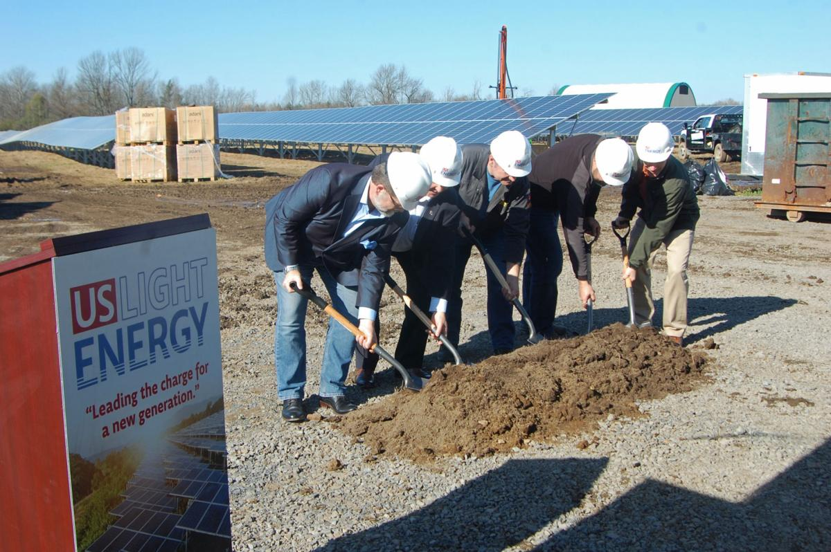 Denmark solar array progressing