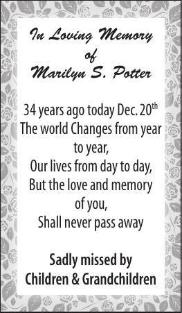 Marilyn Potter