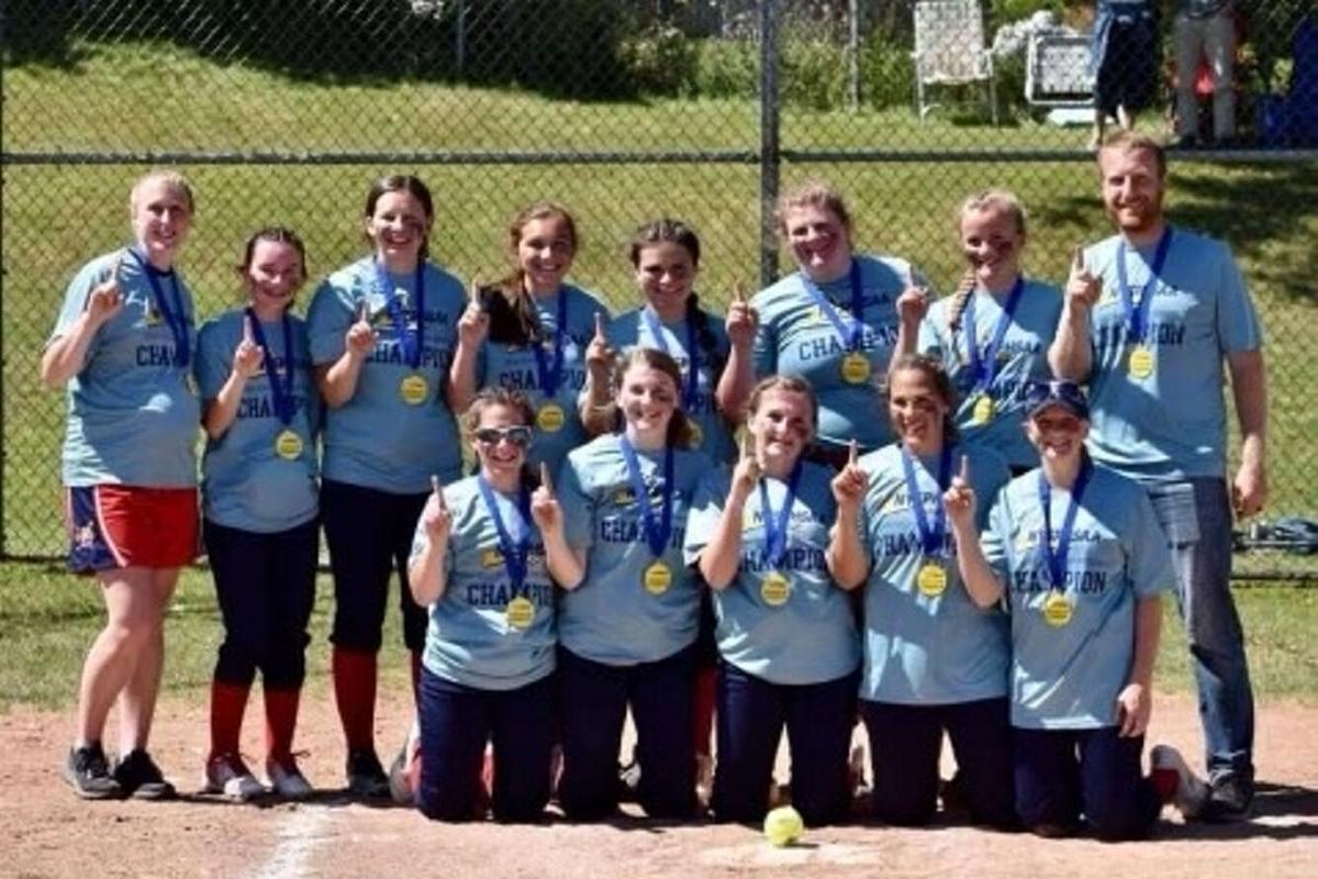Pulaski varsity softball team wins the Section 3 Class C championship