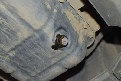 If drain plug is shot, no need to replace entire oil pan