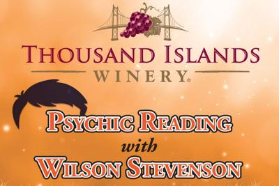 Psychic Wilson Stevenson to perform at winery today
