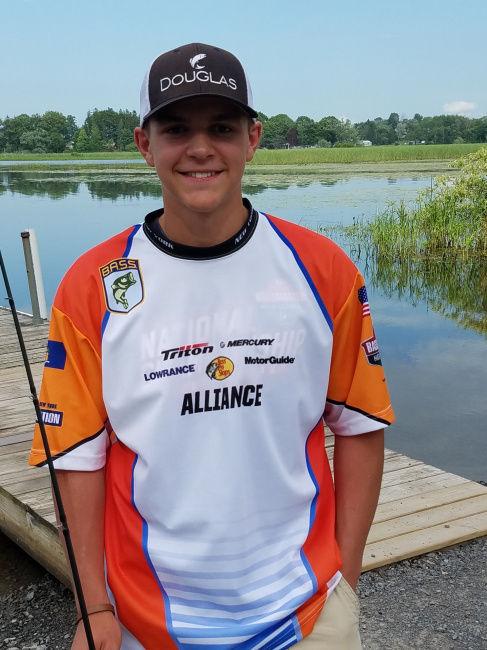 Emerging bass angler Garrett Lawton named to Bassmaster All-State High School Fishing Team