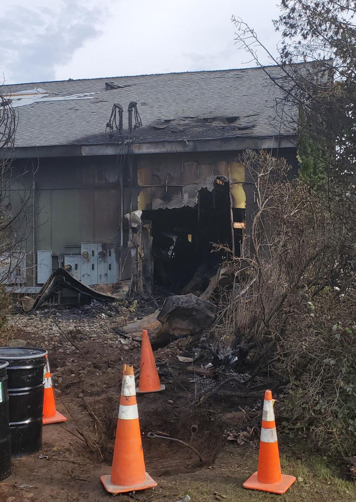 Truck smashes into Morristown's Parkway Express, sparking massive fire