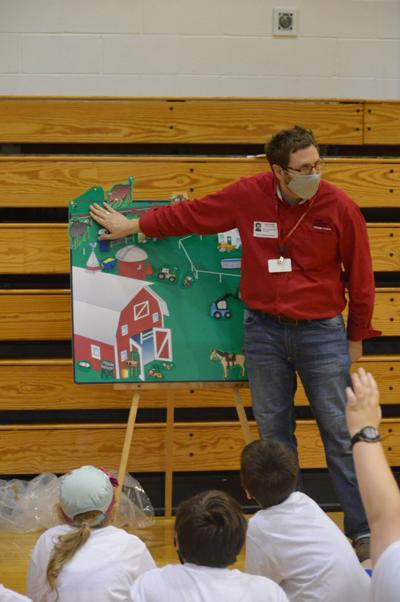 Local fifth-graders attended the 18th Annual Oswego County Progressive Agriculture Home and Farm Safety Day