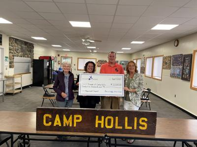 Friends of Camp Hollis receives 25K grant