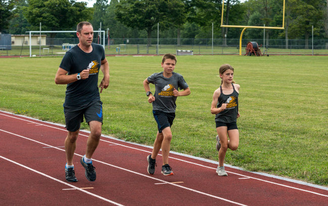 Fun-fueled track and field activity brings Oswego community together