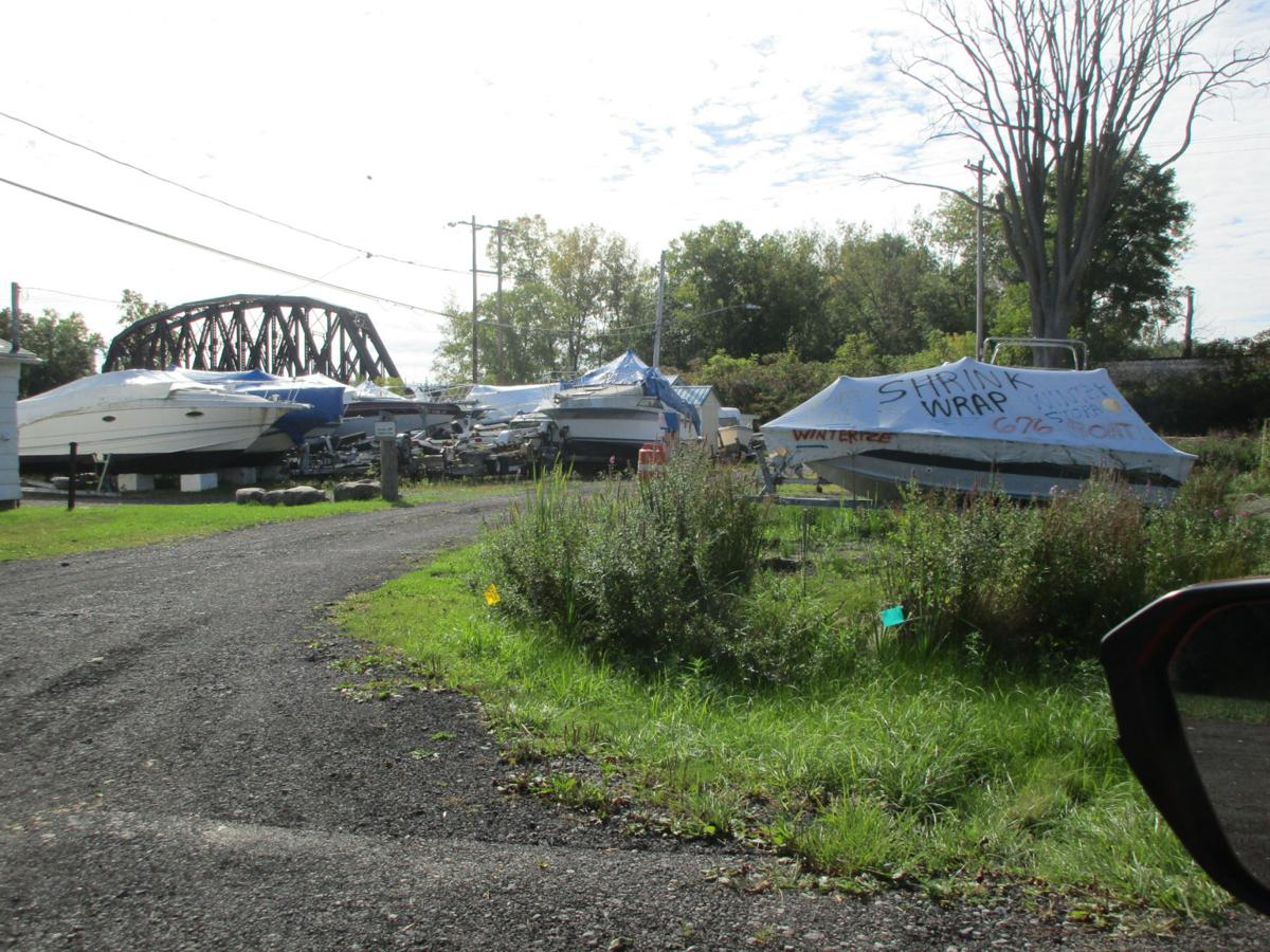 Historical society concerned with boat storage, repair business
