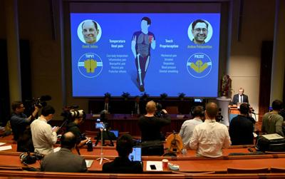 California scientists share Nobel for work on sense of touch