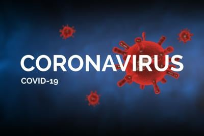 "Covid-19 concept image with ""Coronavirus covid-19"" text"