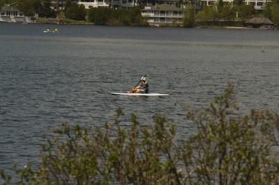 Algal bloom strikes Mirror Lake