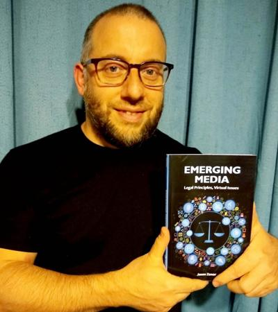 SUNY Oswego faculty member's new book looks at legal issues in emerging media